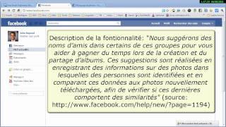 Facebook: Désactiver la fonction