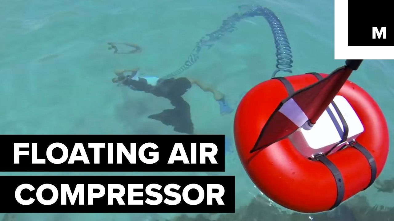 Scuba dive tankless youtube - Floating dive compressor ...