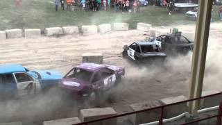 Woodstock Fair Demolition Derby | Figure 8 Final