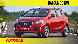 Datsun Go Automatic Review - CVT among the AMTs | First Drive | Autocar India