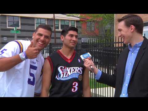 Asking College Students About Their NBA Jerseys (Extended)