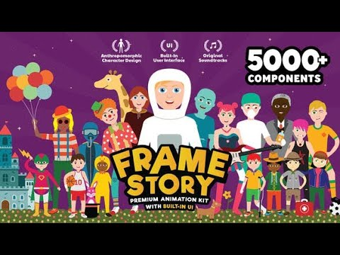 Frame Story - Character Animation Explainer ToolKit For After Effects