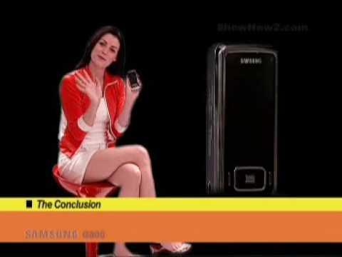 Samsung G800 Mobile Phone - The Conclusion