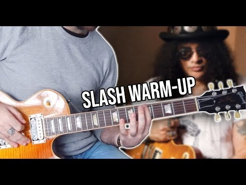 Here's SLASH Warm-up Exercise!