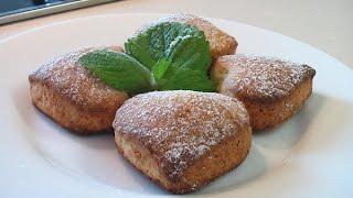 Печенье с творогом. Очень вкусно!(Сайт проекта: http://www.videocooking.ru Приготовленно по рецепту из