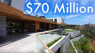 $70 Million Dollar MEGA MANSION TOUR in Holmby Hills - Realtor Day in the life