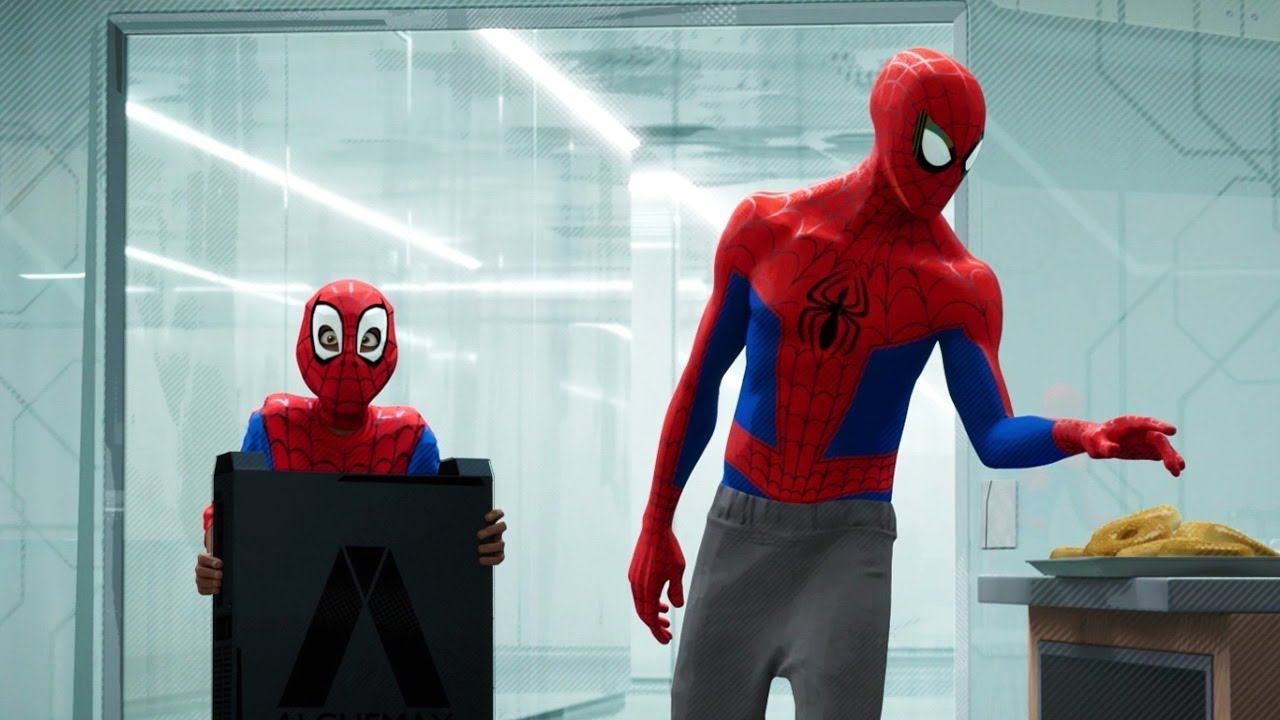 spiderman  new generation  le spiderverse  youtube
