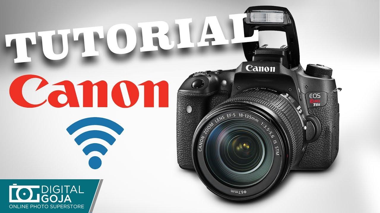 connect canon rebel t6s wifi camera to smartphone. Black Bedroom Furniture Sets. Home Design Ideas