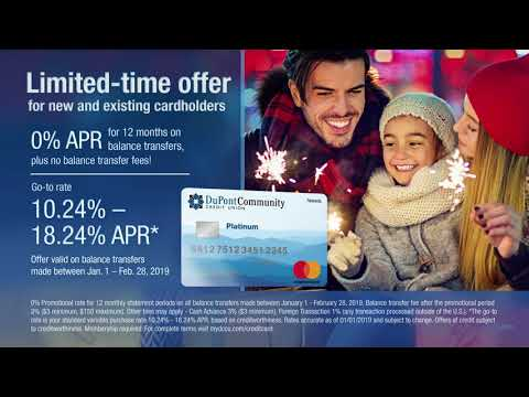 DCCU Credit Card Balance Transfer Offer