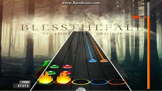 Guitar Flash Up In Flames - Blessthefall 100% Expert 38,345