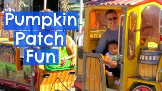 Pumpkin Patch Fun | It's The Reeds Daily Vlogs