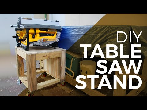 How to make a Tablesaw Stand