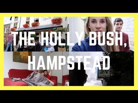 HAMPSTEAD PUB VLOG: THE HOLLY BUSH || London Couple Travel Vlog 030