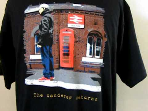237bf949 80s casuals t shirt BWFC black at terrace couture.AVI