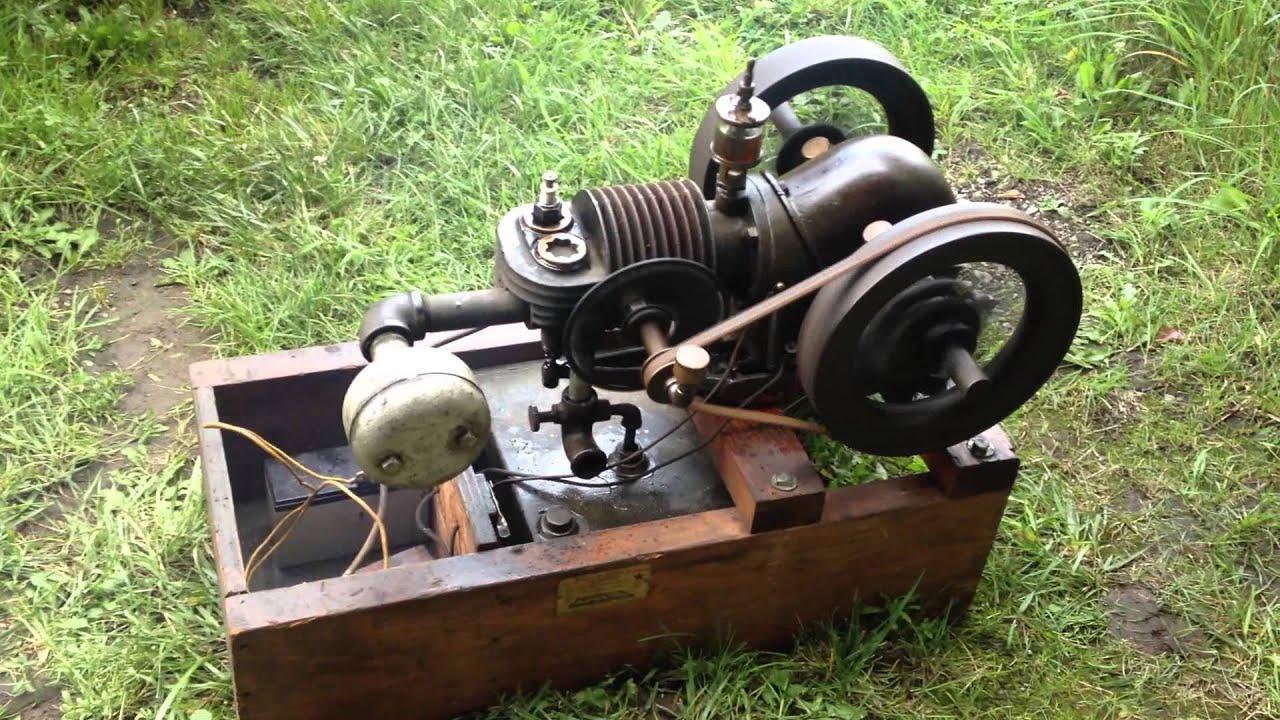 3/4hp Bluffton Antique Hit & Miss Engine - YouTube