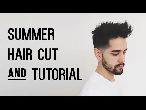 Mens Spring Summer Hair Cut And Style Tutorial James Welsh
