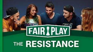 Jhon Rachid, FloBer, Marion & Kenza dans The Resistance FAIRPLAY