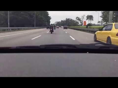 200kmh test: Saje bergurau senda Proton Preve VS Honda Civic