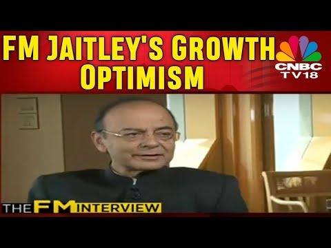 FM Arun Jaitley on Moody's India Rating Upgrade | CNBC TV18 Exclusive