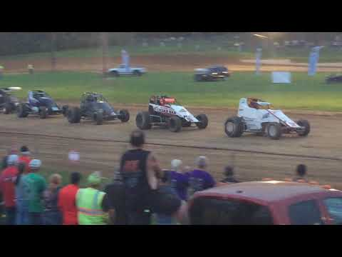 MSCS Sprint Car B Main Paragon Speedway 5/31/19