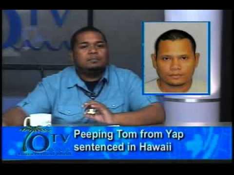 Peeping Tom From Yap Sentenced In Hawaii