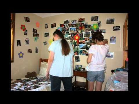 Bedroom Wall Photo Project Time Lapse
