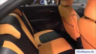 Авточехлы на Chevrolet Aveo new. Результат установки(, 2014-03-02T18:21:40.000Z)