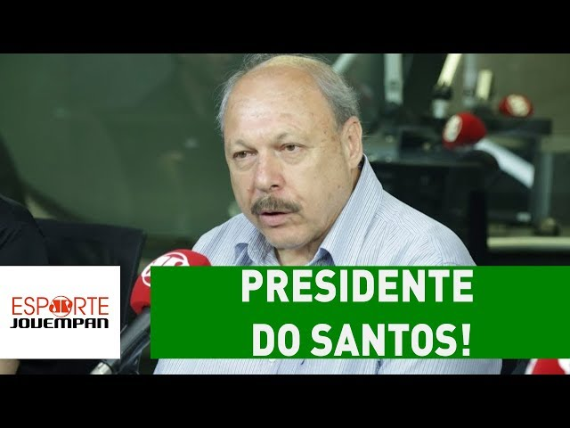 ENTREVISTA exclusiva com o novo PRESIDENTE do SANTOS!