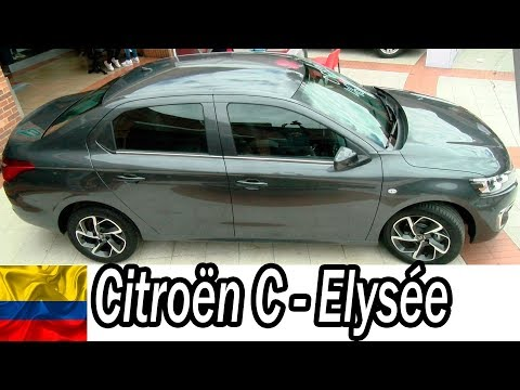 Citro�n C-Elys�e 2019 MODERNO, ESPACIOSO, ROBUSTO Colombia Youtucars.