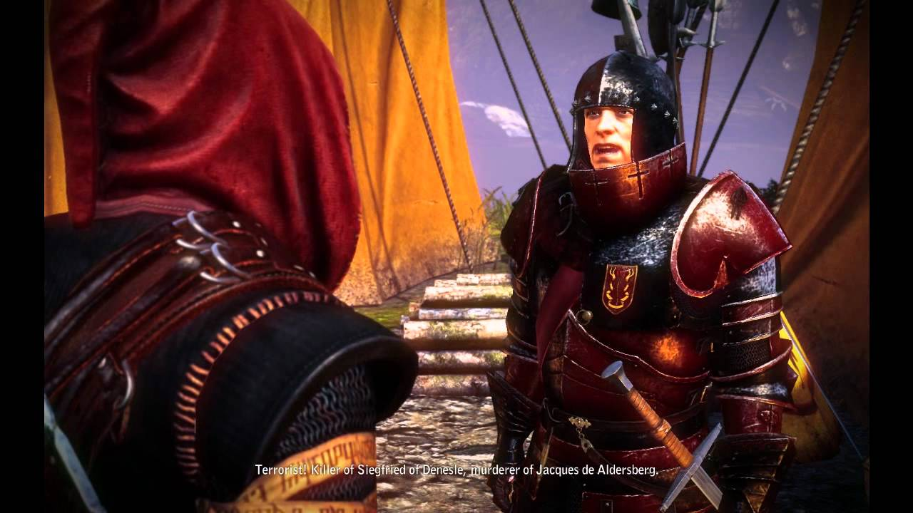 The Witcher 2 - Killer Of Siegfried - YouTube