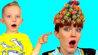 Hairstyle Chupa Chups Lollipops - Martin and Monica