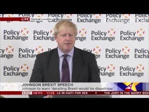 Boris Johnson speech Brexit shows our historic national genius