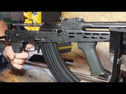 Homemade selectable  Binary ak 47 trigger. Double tap ak 47.