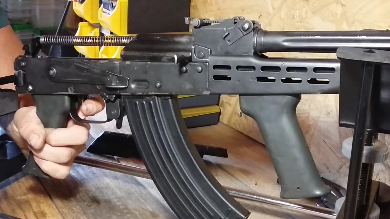Homemade selectable Binary ak 47 trigger  Double tap ak 47