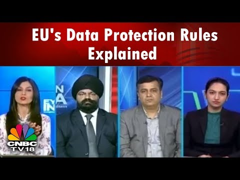 EU's Data Protection Rules Explained | What Is GDPR? | CNBC TV18