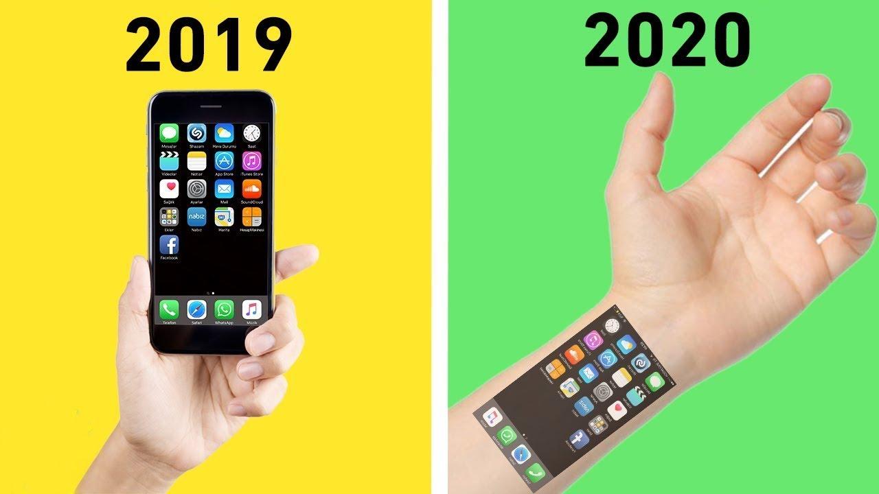 5 اختراعات جديدة سنراها في الواقع في عام 2020 !!