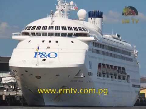 Madang Expects Arrival of Tourists on P&O Cruise Ship