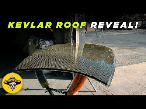 350z Carbon Fiber Kevlar Roof Reveal | (Ep# 18) [Part 2] [4K]