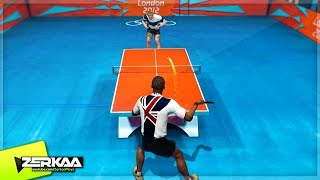 OLYMPIC TABLE TENNIS! (London 2012)