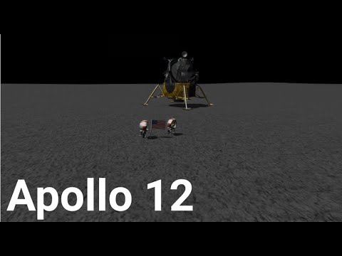 Apollo 12: Pinpoint for Science NASA Documentary - Kerbal Space Program (RSS/RO)