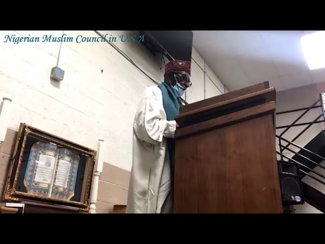 Jumah Khutbah | Chief Imam Yusuf Olaleye