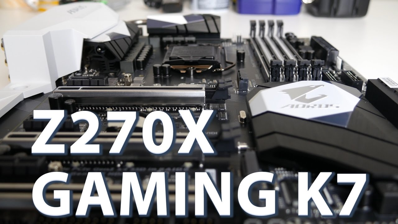 Mainboard Motherboard Gigabyte Ga Z270 Phoenix Gaming Socket 1151 Kaby Lake Intel Aorus Z270x K7 Review