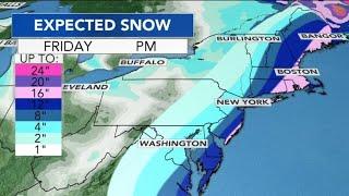 More snow forecast as