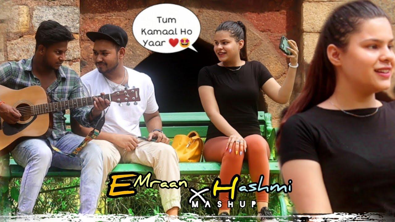 Download Emraan Hashmi Songs X Mashup | Singing Reaction Video | Cute Reaction Video | Kardiya Prank | 2021