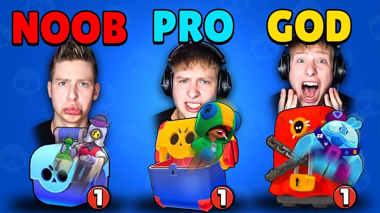 Download Brawl Stars NOOB vs PRO vs GOD