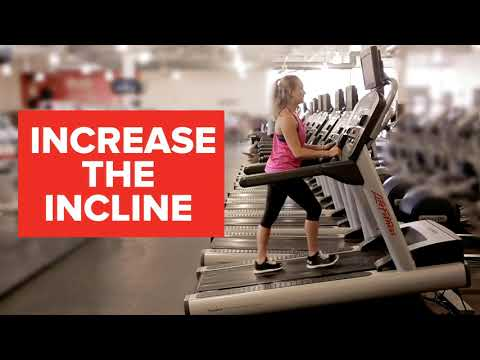 GoodLife Fitness: Working Out On The Treadmill