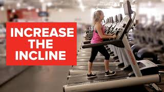 GoodLife Fitness-Working out on: the treadmill