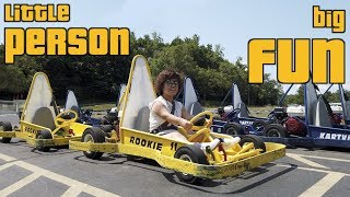 Hong Kong Little Person has BIG fun in USA!