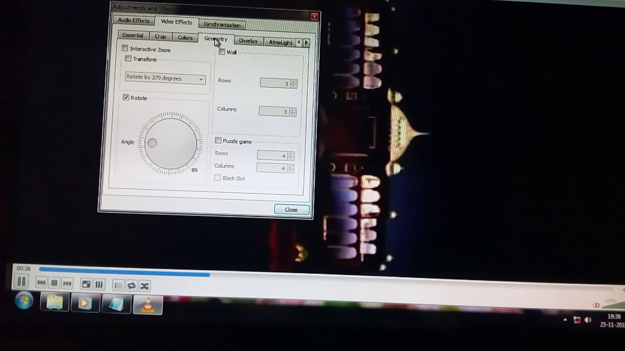 How to rotate video in pc easily vlc flip video youtube how to rotate video in pc easily vlc flip video ccuart Images