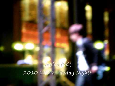 Se7en, Fashion Meets Music at Mandarin Gallery (Self-Vid) 2nd Song 10.11.26